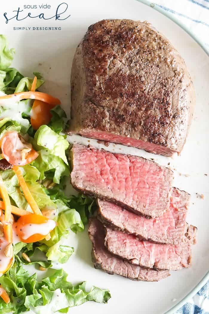 Sous Vide Steak - tender juicy steak every single time