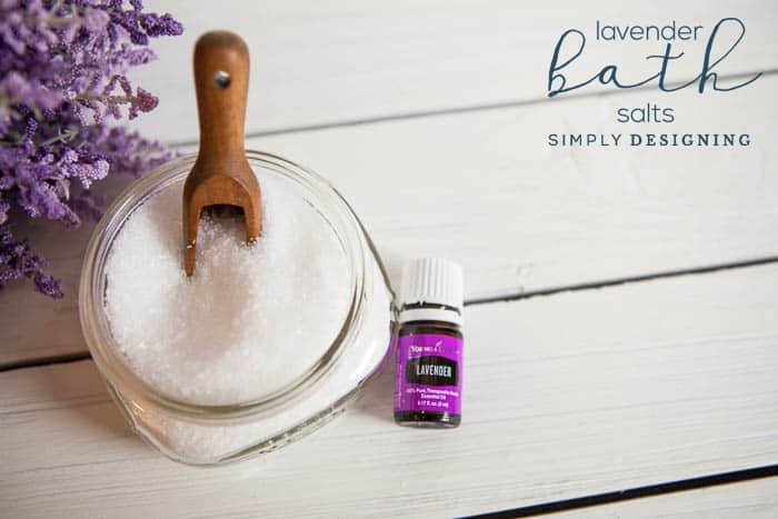 DIY Bath Salts - Lavender Bath Salts - How to Make Bath Salts
