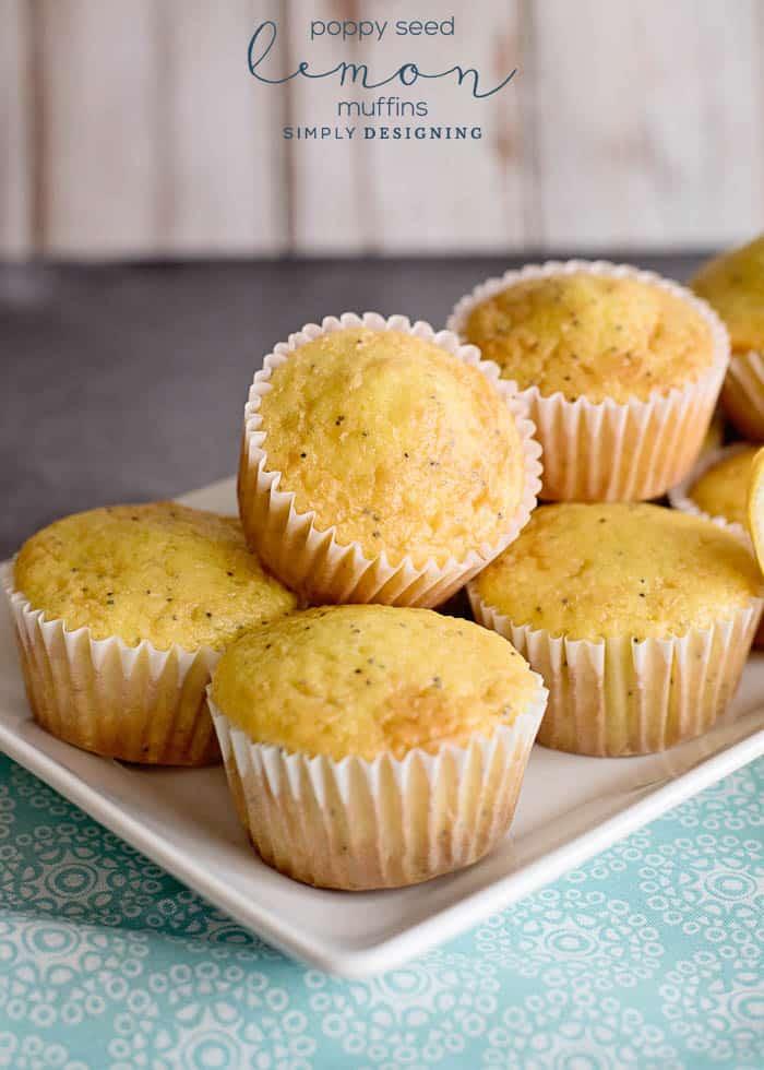 Delicious Lemon Muffins