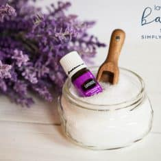 Homemade Lavender Bath Salts