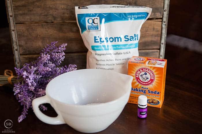 Lavender Bath Salts Ingredients