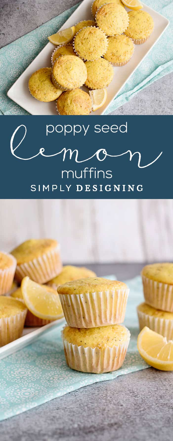 Lemon Muffins with Poppy Seeds - an easy and delicious recipe