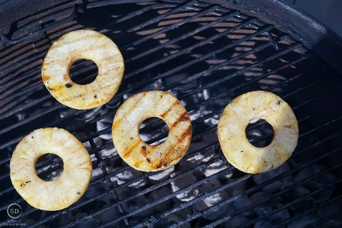 grill pineapple