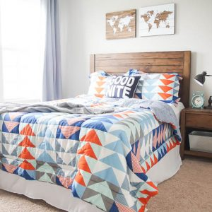 Cool Boy Bedroom Makeover