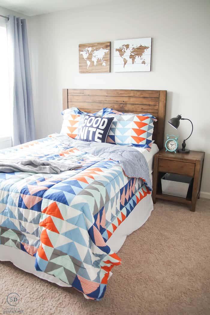 Awesome Boy Bedroom Idea - #ad #BHGLiveBetter #BHGatWalmart @BHGLiveBetter