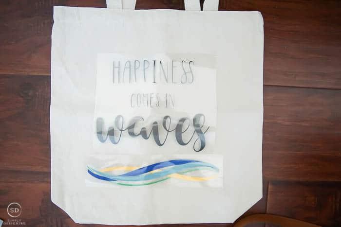 Vinyl for DIY Beach Bag