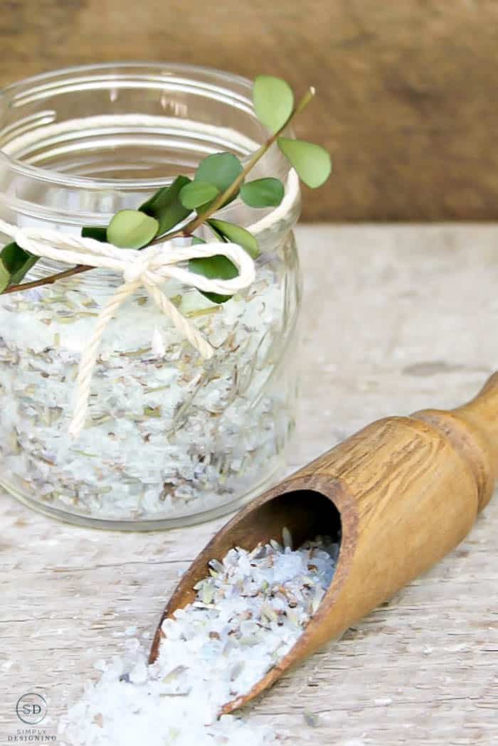 Epsom Salt Bath Recipe for Muscles