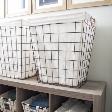 How to Organize a Laundry Room