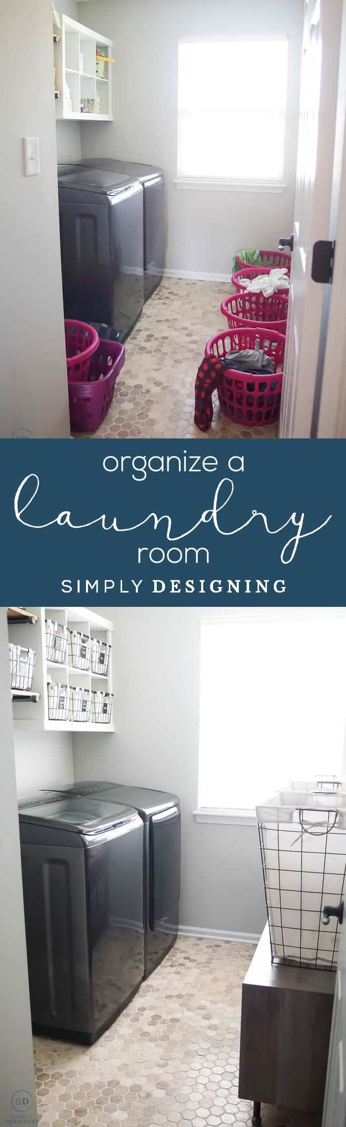 how to organize a laundry room a Laundry Room