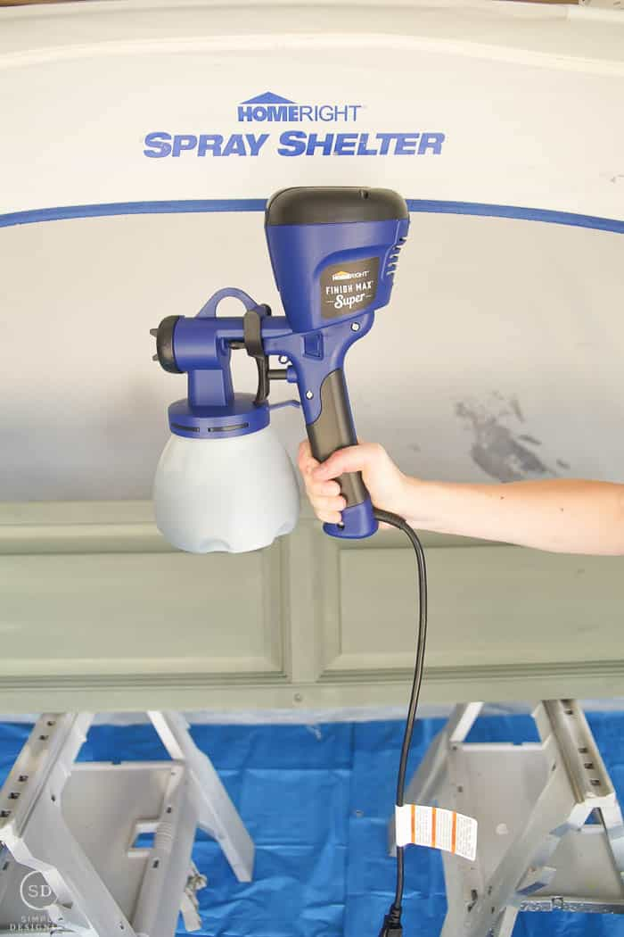 spray painter for shutters