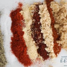 The BEST Sweet, Spicy and Smokey BBQ Rub Recipe