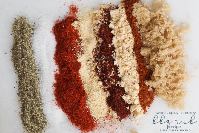 The BEST Sweet Spicy and Smokey BBQ Rub Recipe