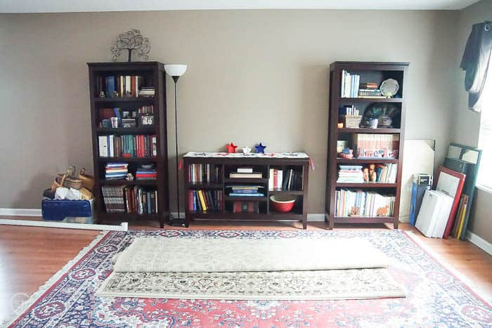 Front Room makeover BEFORE