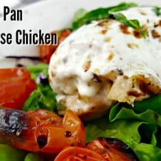 Sheet Pan Caprese Chicken