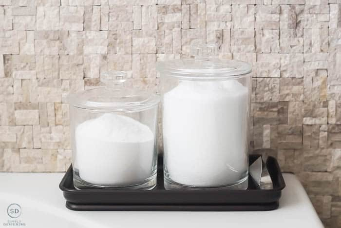 make your own bath salt station