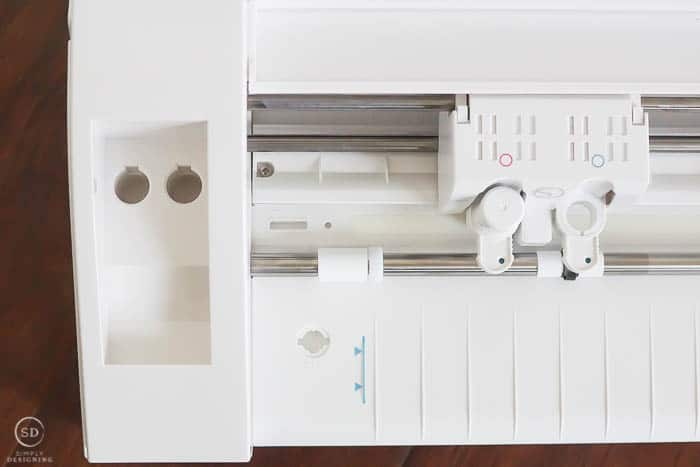 Storage on Silhouette CAMEO