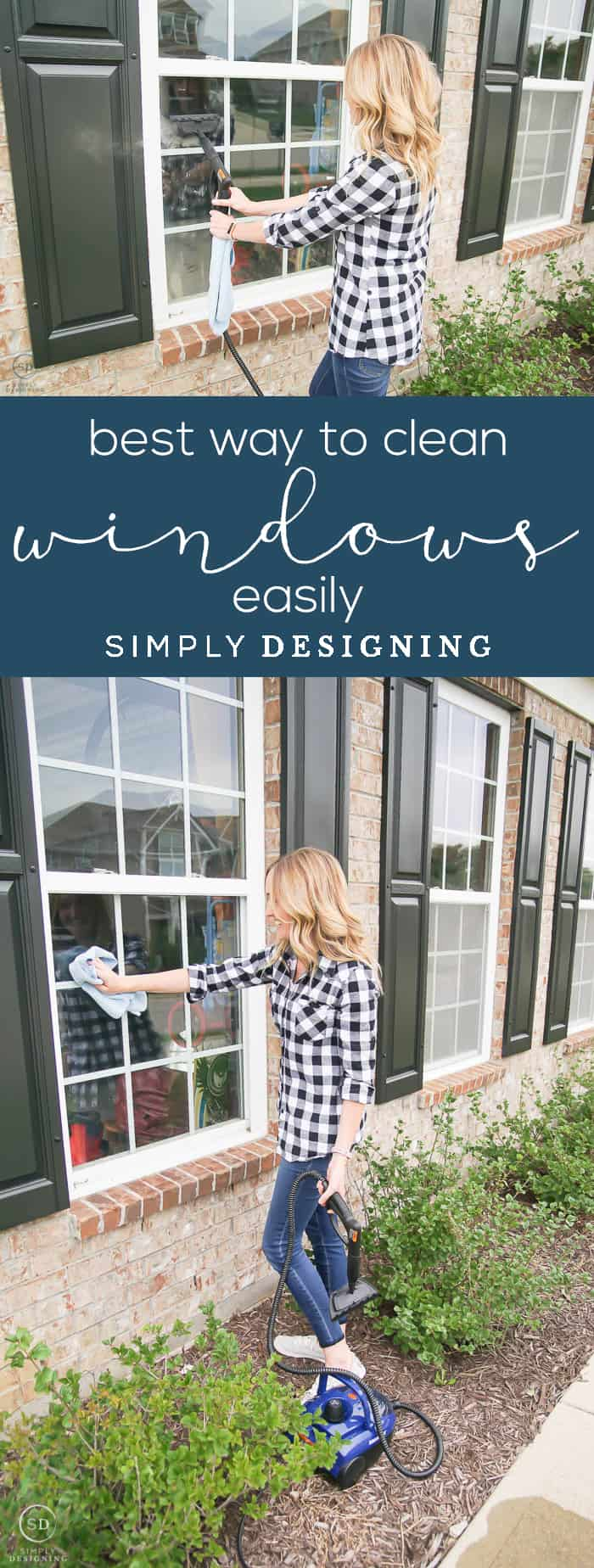 The Best Way to Clean Windows Easily - streak free windows - wash windows - fall cleaning