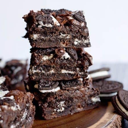 Delicious Stuffed Oreo Brownies