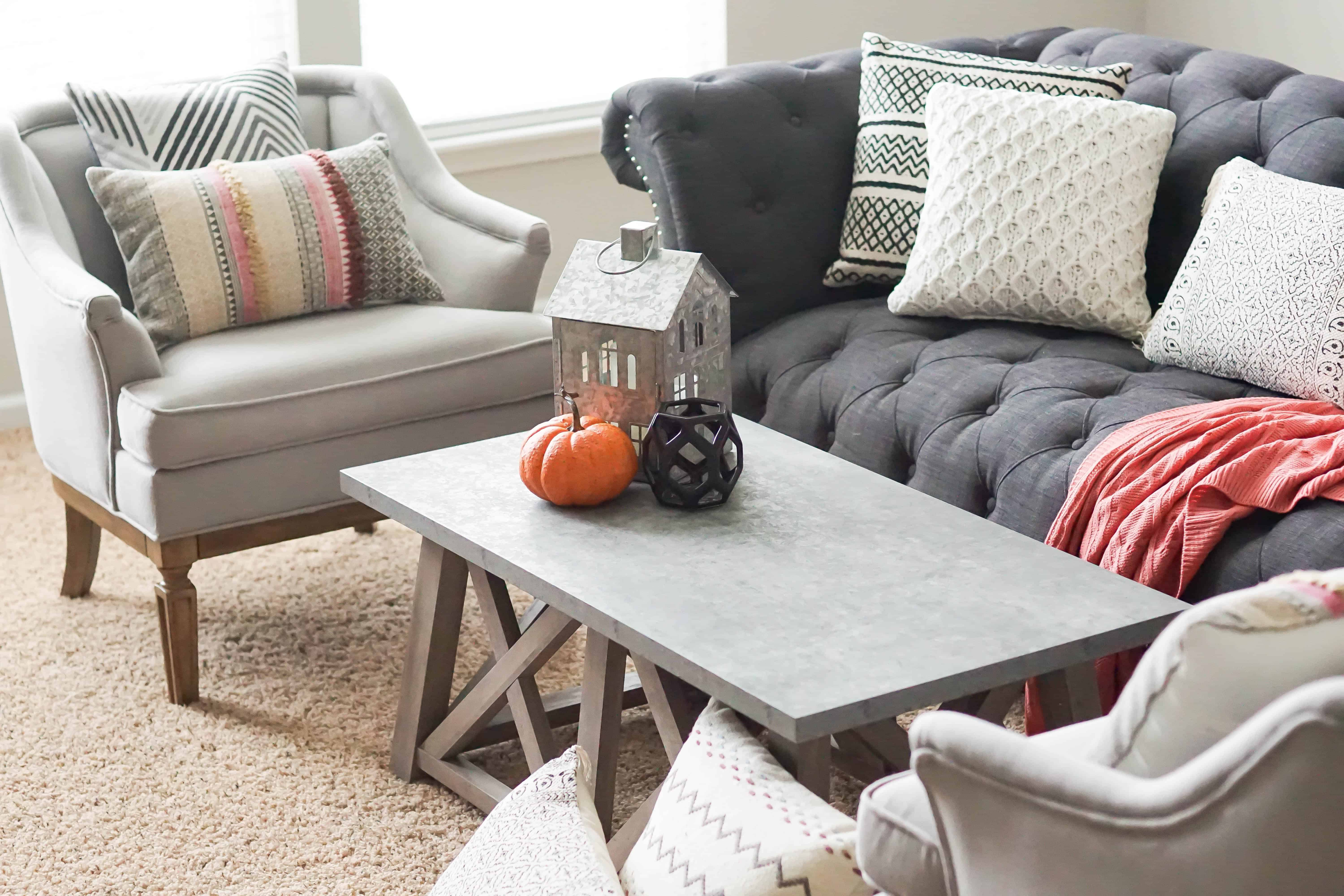 Fall Family Room Update