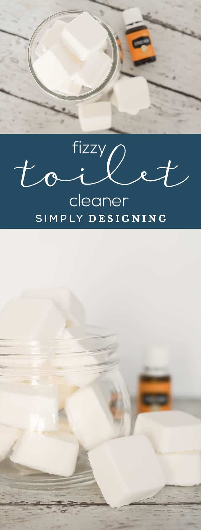 Fizzy Homemade Toilet Cleaner - this essential oil toilet cleaner is a wonderful alternative - fizzy - fizzy toilet bombs