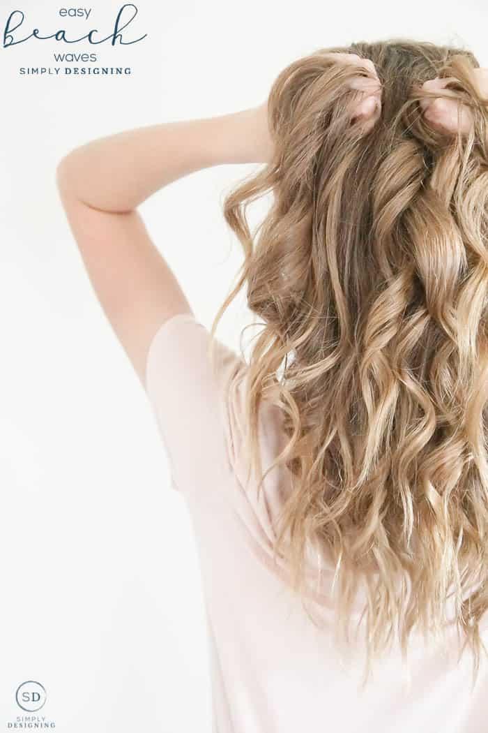 Easy Beach Waves For Long Hair