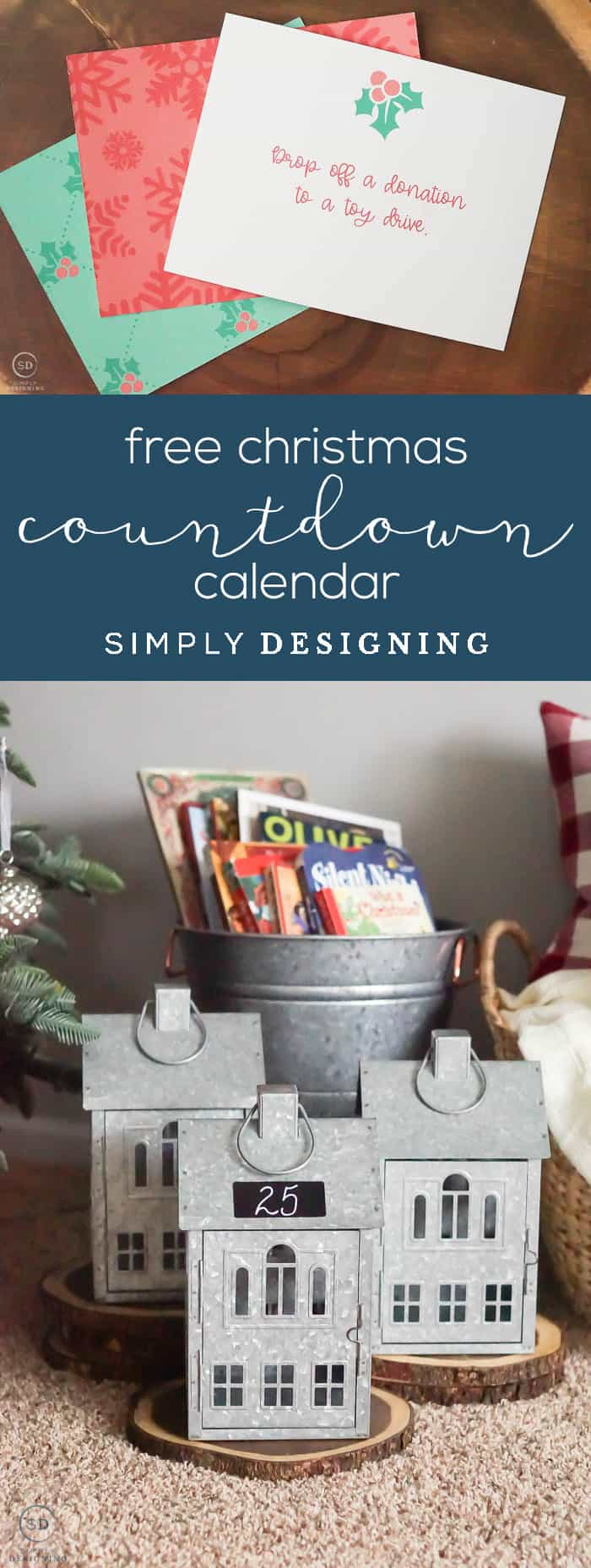 Free Printable Countdown Calendar - #ad #bhghowiholiday #bhglivebetter #bhgatwalmart @BHGLiveBetter