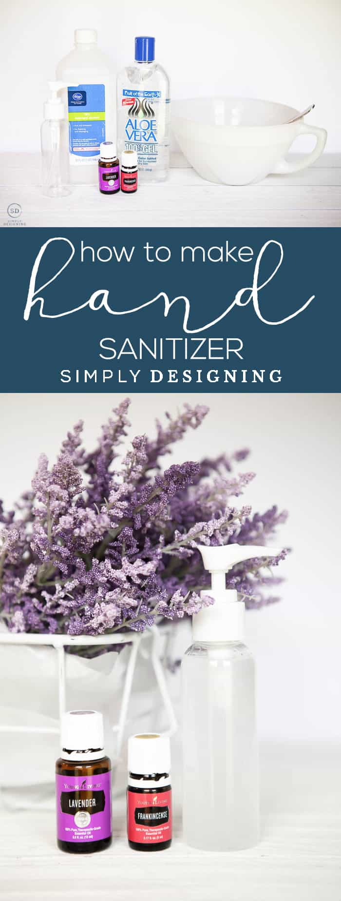 How to make Hand Sanitizer - an easy safer and less expensive natural alternative