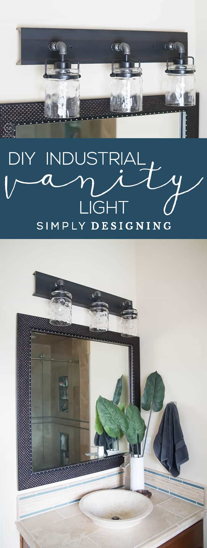 Diy Vanity Lights Simply Designing With Ashley