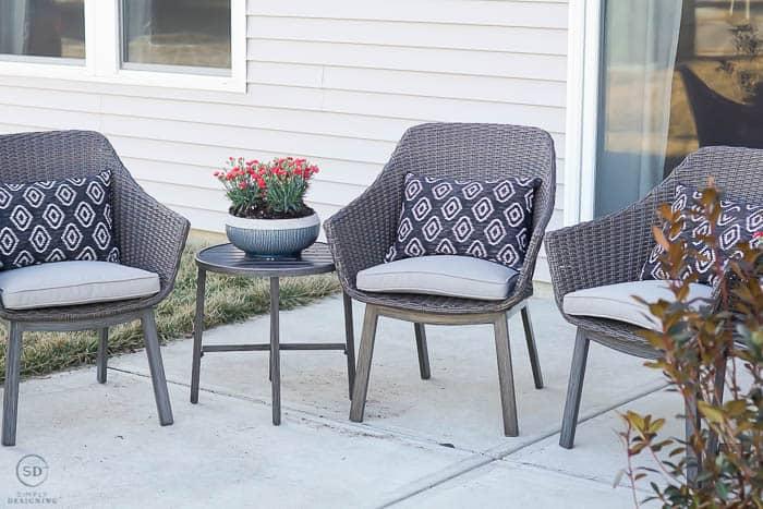 patio chair set