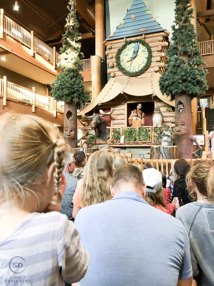 story time at clock tower great wolf lodge