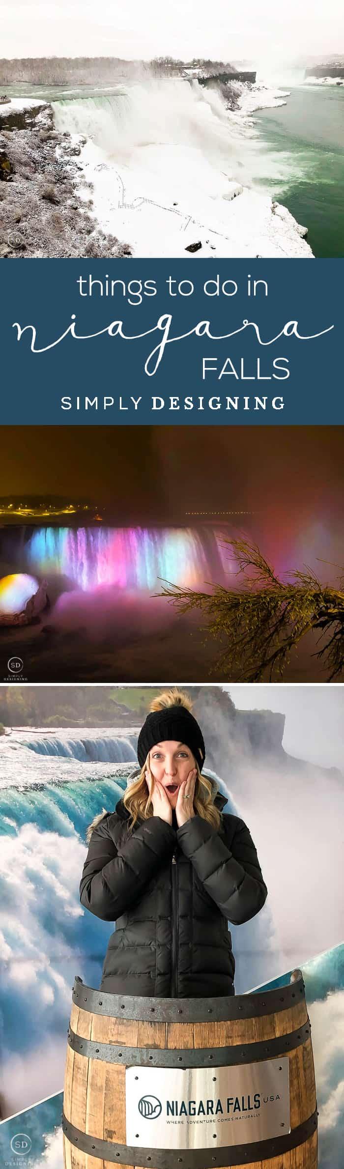 Things to do in Niagara Falls - I am sharing what to do in Niagara Falls during any time of year - kid friendly things to do at niagara falls
