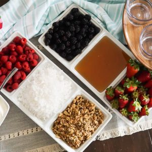 yogurt parfait toppings