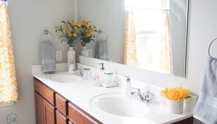 Affordable Master Bathroom Makeover