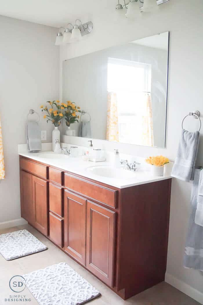 Affordable Master Bathroom Makeover