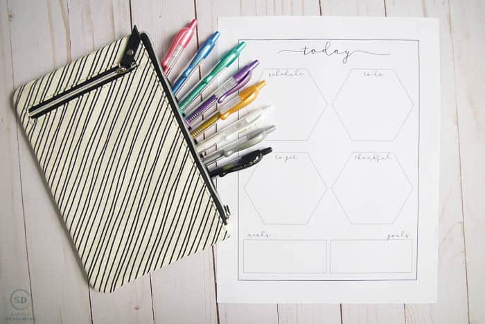 Bullet Journal Ideas & Free Journal Printable