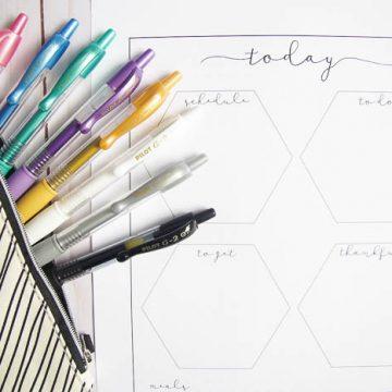 bullet journal ideas for beginners