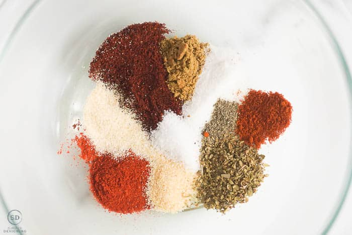 Spices for Sheet Pan Fajitas