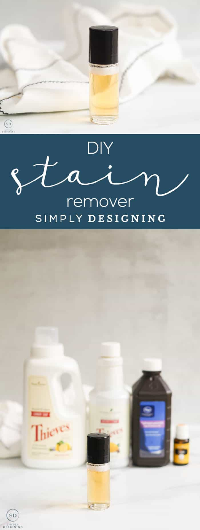 DIY Stain Remover - homemade all-natural DIY Stain Remover recipe that can help you get out your worst clothing stains