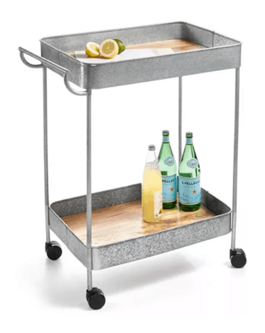 farmhouse bar cart