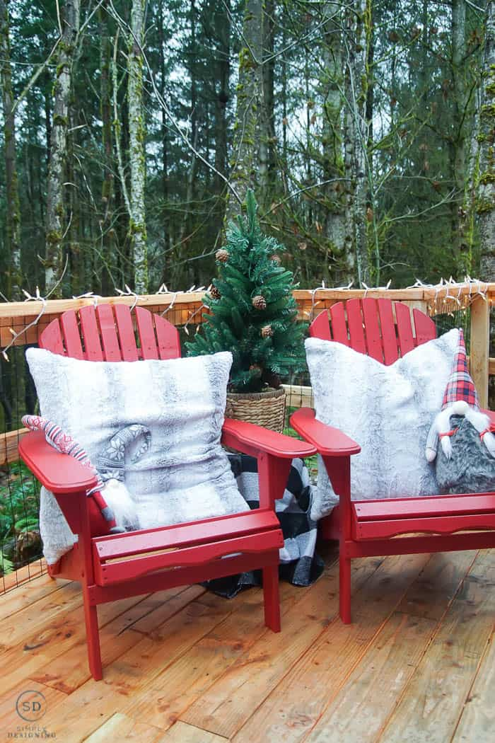 how to paint adirondack chairs