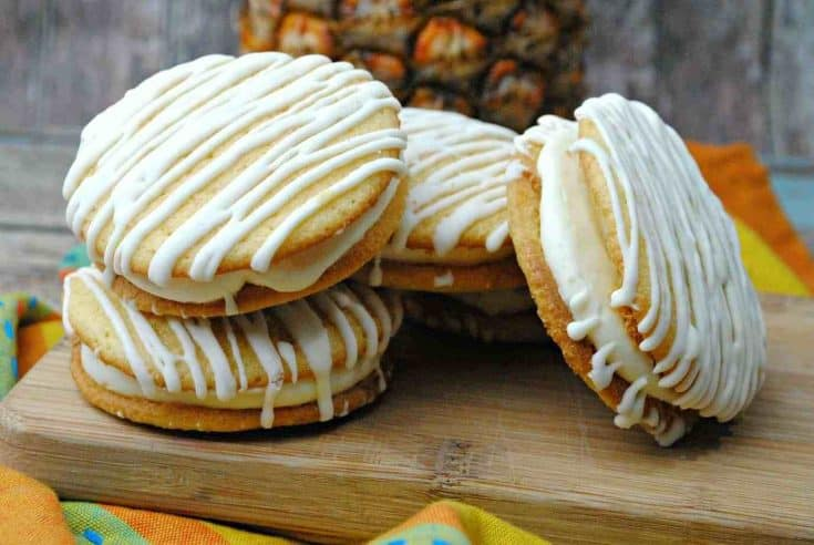 Pineapple Woopie Pies