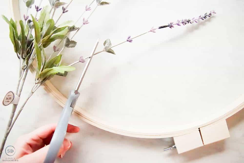 cut lavender picks