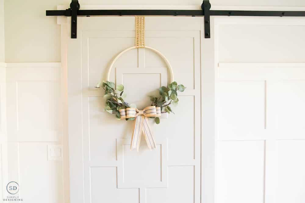 Greenery Hoop Wreath