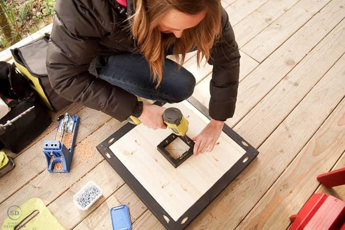 use kreg jig to add molding pieces