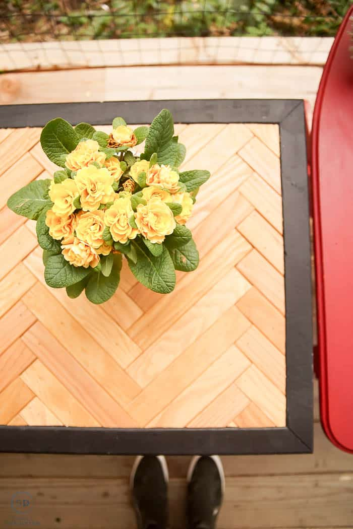 how to make a side table