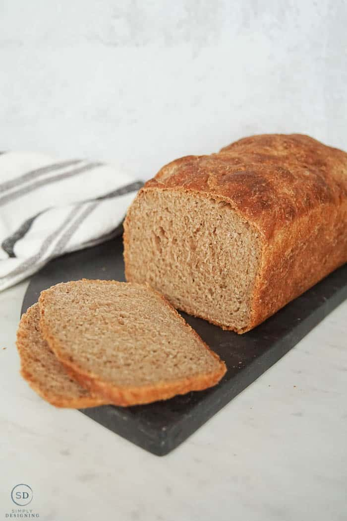no knead whole wheat bread recipe