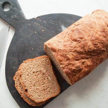 whole wheat artisan bread