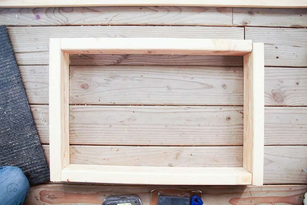 base of frame for pet house
