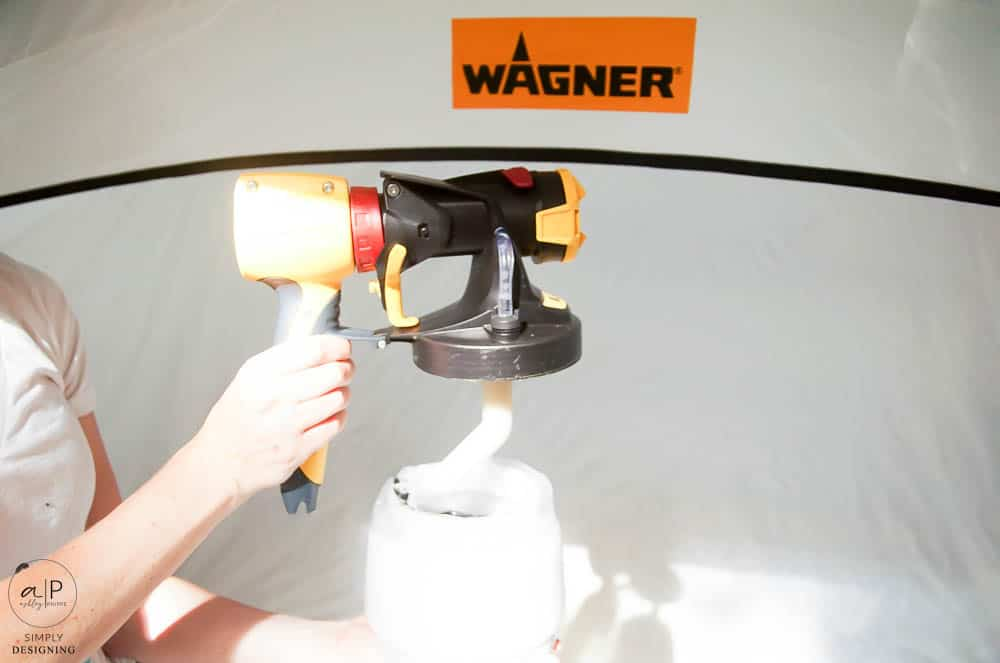 put spray painter together