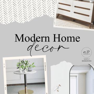 Budget-Friendly Modern Home Decor Ideas
